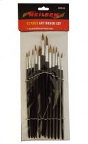 Art Brush Set 12 Piece